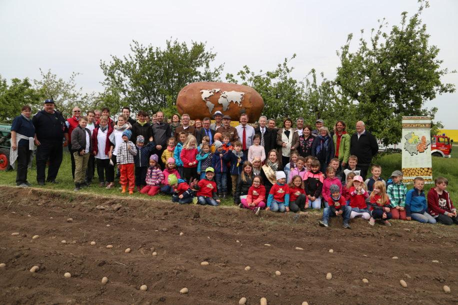 Kartoffellegen in Heichelheim
